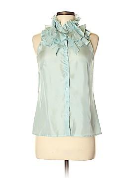Kenar Sleeveless Silk Top Size S