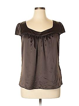 Sunny Taylor Short Sleeve Blouse Size XL