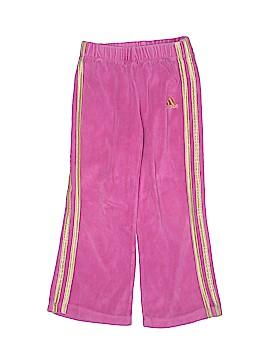 Adidas Velour Pants Size 4T