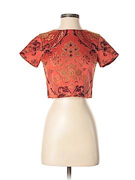 Alice + olivia Short Sleeve Blouse Size 0