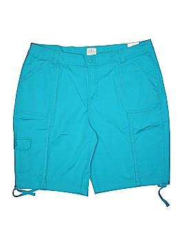 St. John's Bay Khaki Shorts Size 24 (Plus)