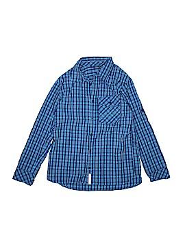 L.L.Bean Long Sleeve Button-Down Shirt Size 10 - 12