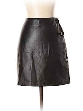 INC International Concepts Leather Skirt Size 6 (Petite)