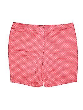 Dalia Collection Khaki Shorts Size 22 (Plus)