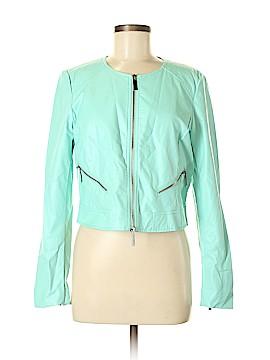 Conrad C Faux Leather Jacket Size 8