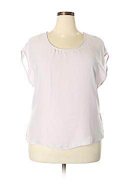 Bar III Short Sleeve Blouse Size XXL