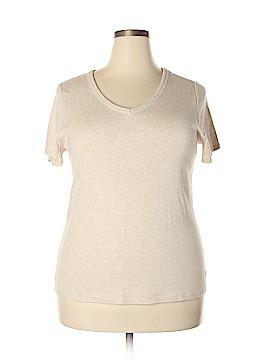 Fashion Bug Short Sleeve T-Shirt Size 1X (Plus)