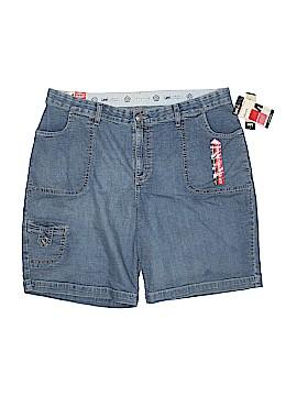 Lee Denim Shorts 34 Waist