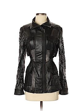 BCBGMAXAZRIA Faux Leather Jacket Size S
