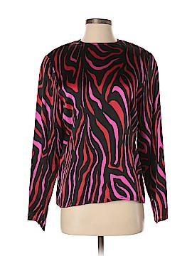 Carlisle Long Sleeve Silk Top Size 8