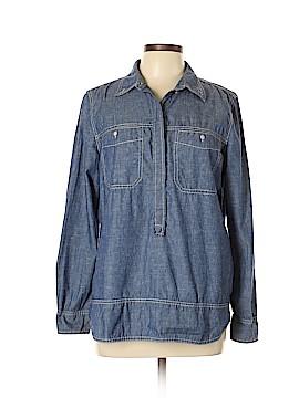 Isaac Mizrahi Long Sleeve Blouse Size L