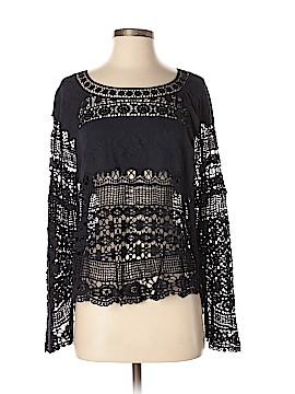 Deletta Long Sleeve Blouse Size M