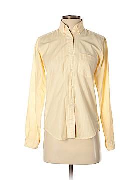 Diane von Furstenberg Long Sleeve Button-Down Shirt Size 6
