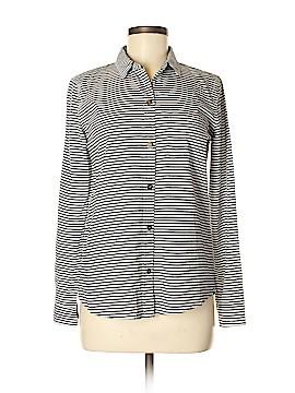 Current/Elliott Long Sleeve Button-Down Shirt Size Sm (1)
