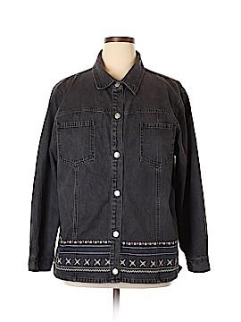 Denim Co Denim Jacket Size 1X (Plus)
