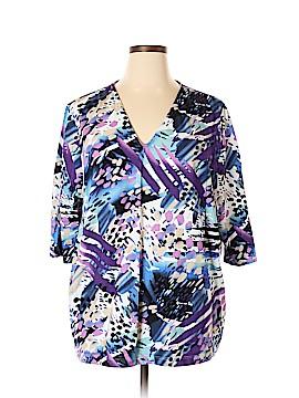 Ulla Popken 3/4 Sleeve Top Size 20 - 22 (Plus)