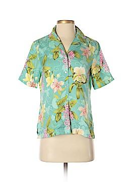 Tommy Bahama Short Sleeve Silk Top Size S