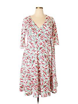 Unique Vintage Casual Dress Size 2X (Plus)