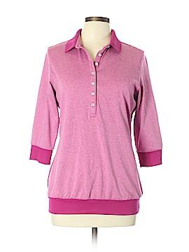 Nike Golf 3/4 Sleeve Polo Size L