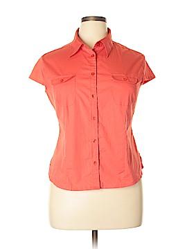 Fiorlini International Short Sleeve Button-Down Shirt Size XL