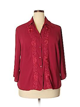 Covington Outlet 3/4 Sleeve Blouse Size 16 - 18
