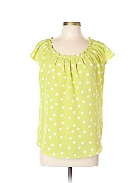 LC Lauren Conrad Short Sleeve Blouse Size L