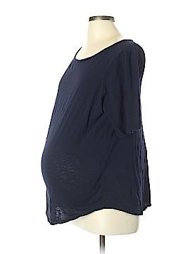 Ann Taylor LOFT Short Sleeve T-Shirt Size L (Maternity)