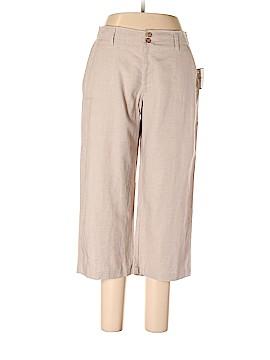Sag Harbor Linen Pants Size 12 (Petite)
