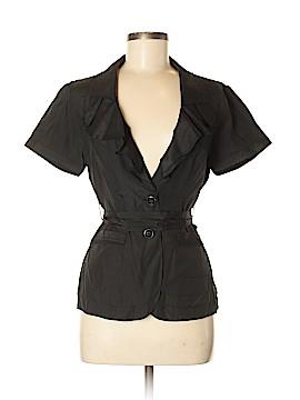 White House Black Market Short Sleeve Button-Down Shirt Size 6