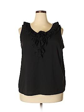 Jessica London Short Sleeve Blouse Size 18 (Plus)