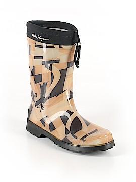 Salvatore Ferragamo Rain Boots Size 10