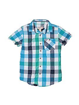 Ruff Hewn Short Sleeve Button-Down Shirt Size 8