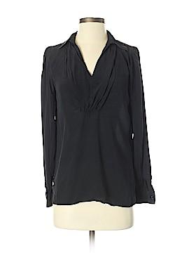 Tegan Long Sleeve Silk Top Size 2