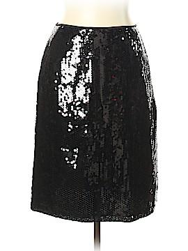INC International Concepts Silk Skirt Size 10