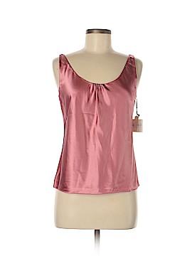 Kate Hill Sleeveless Silk Top Size 4 (Petite)