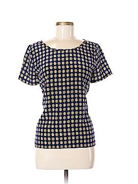 Joie Short Sleeve Silk Top Size M