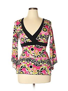 Moa Moa 3/4 Sleeve Top Size XL