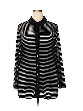 Vikki Vi Long Sleeve Blouse Size 2X (Plus)