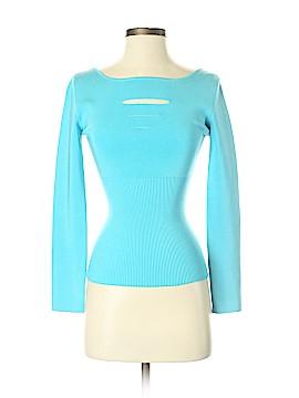 Cache Silk Pullover Sweater Size S