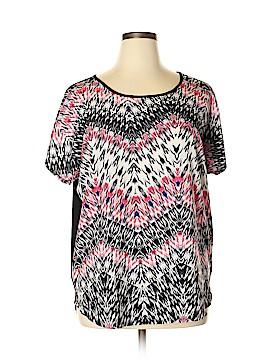 Tribella Short Sleeve Blouse Size XL