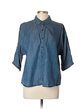 Coldwater Creek 3/4 Sleeve Button-Down Shirt Size L (Petite)