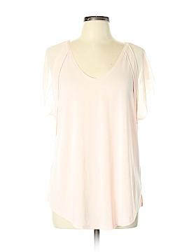 Simply Vera Vera Wang Short Sleeve Top Size XL