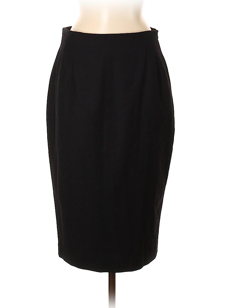 Gianfranco Ferre Women Wool Skirt Size 46 (IT)