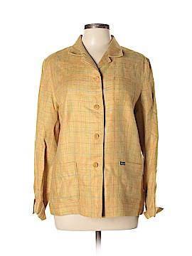 Faconnable Silk Blazer Size L