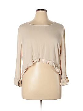 Katia 3/4 Sleeve Blouse Size 3X (Plus)