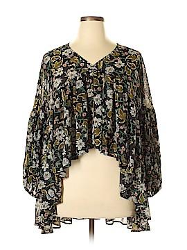 Romeo & Juliet Couture Long Sleeve Blouse Size L