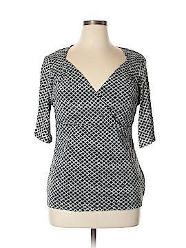 Nine & Co. Short Sleeve Top Size XL