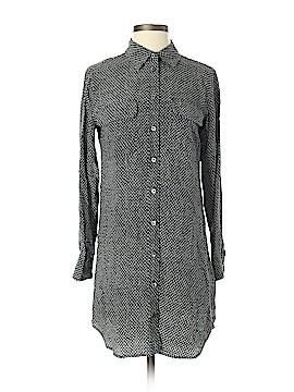 Equipment Long Sleeve Silk Top Size XS (Petite)