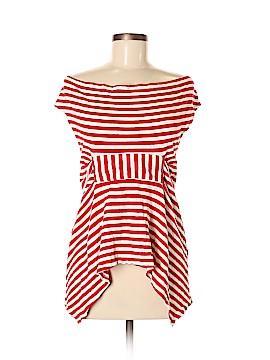 Eva Franco Short Sleeve Top Size 6