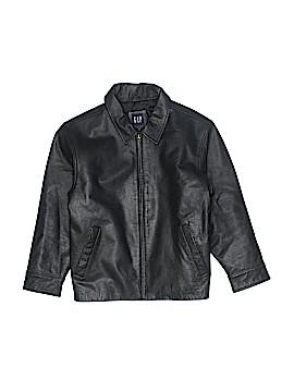 Gap Kids Leather Jacket Size M (Youth)